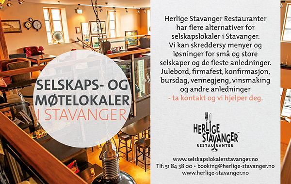 Selskapslokaler i Stavanger_moderndesign