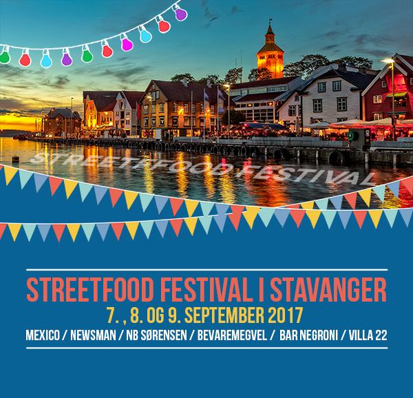 Streetfood 7. til 9.septemebr 2017